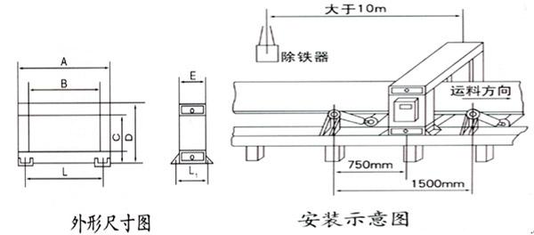 gjt-2f系列金属探测仪